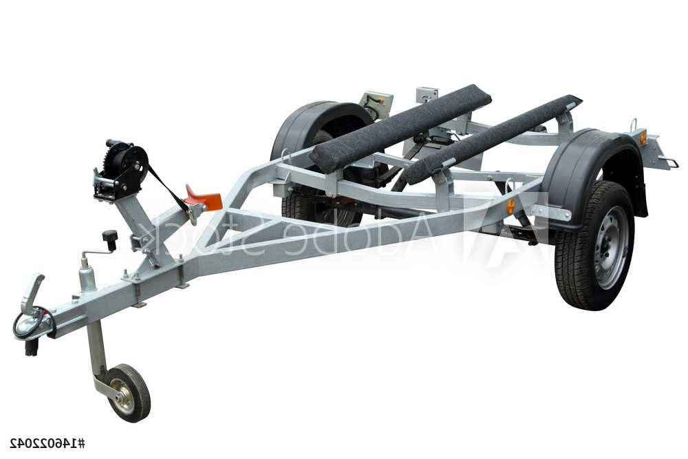 Trailers and Spares - Boat Trailer - Illustration