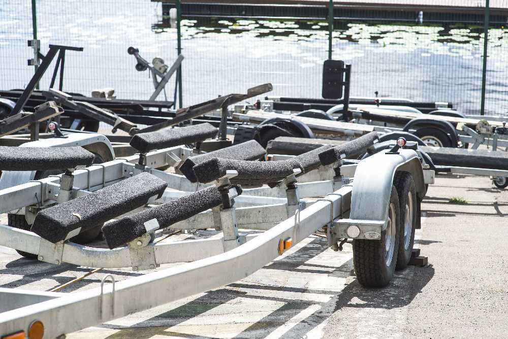 Trailers and Spares service, repair and modify any type of boat trailer.