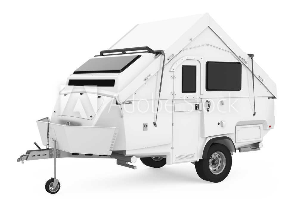 Trailers and Spares - Camper Trailer - Illustration