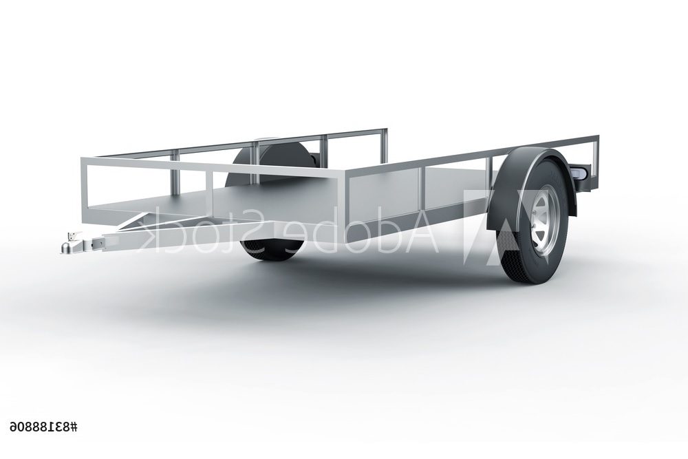Trailers and Spares - Car Trailer - Illustration