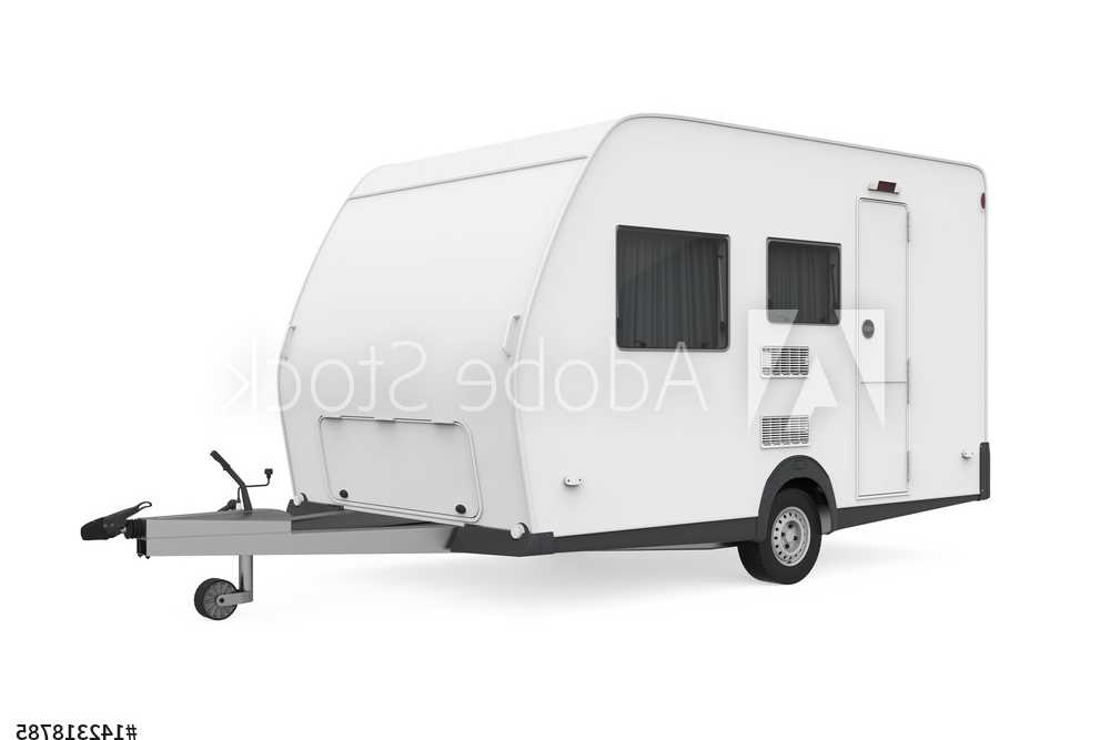 Trailers and Spares - Caravan Trailer - Illustration