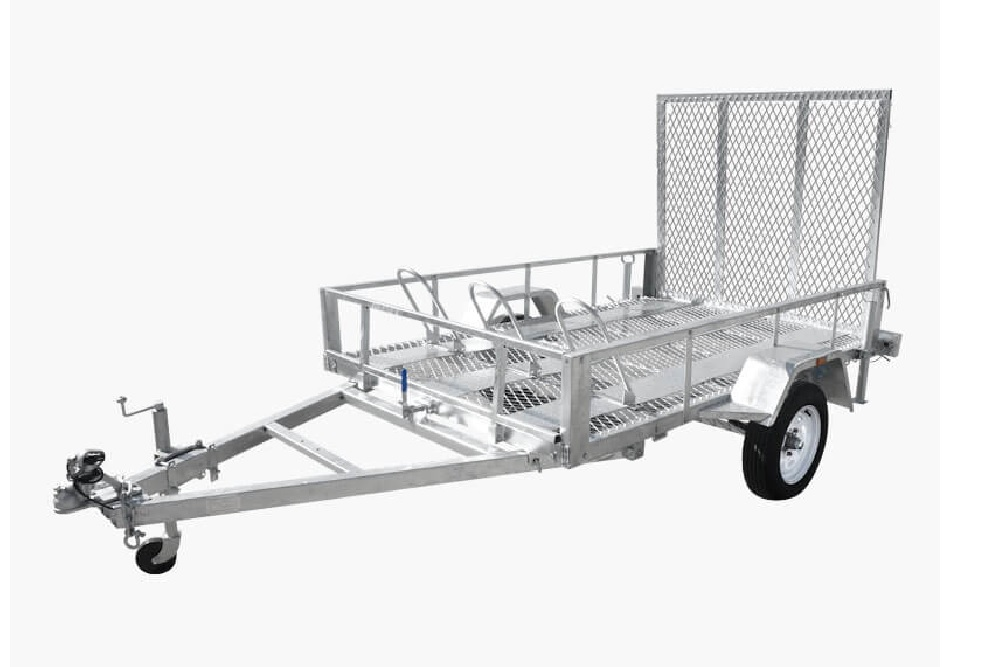 Trailers and Spares - Machinery Trailer - Illustration