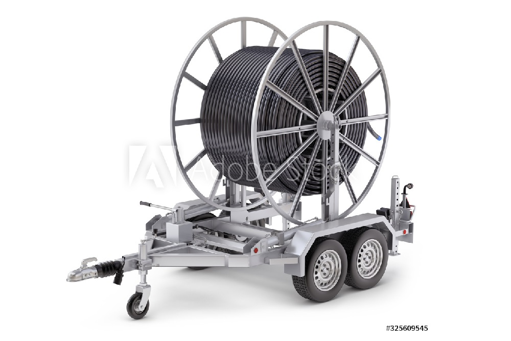 Trailers and Spares - Plant Trailer - Illustration